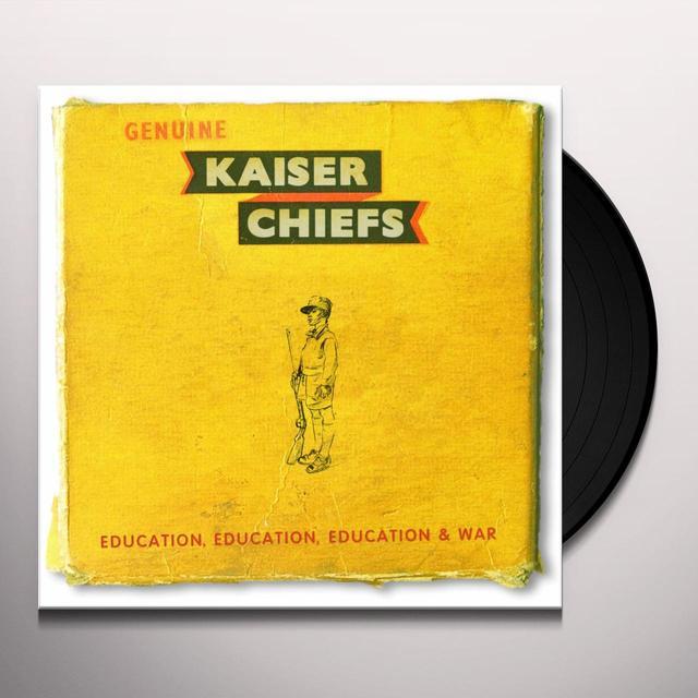 Kaiser Chiefs EDUCATION EDUCATION EDUCATION & WAR Vinyl Record