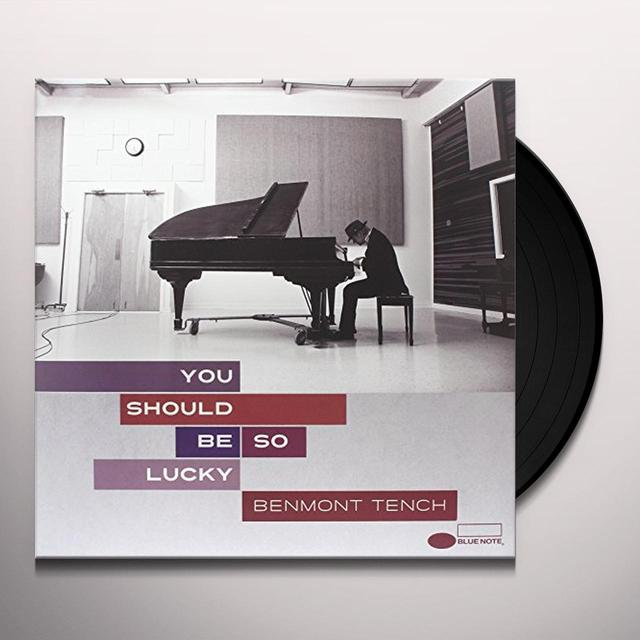 Benmont Tench YOU SHOULD BE SO LUCKY Vinyl Record