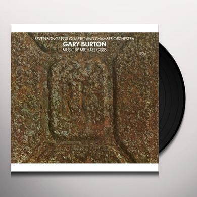 Gary Burton SEVEN SONGS FOR QUARTET & CHAMBER ORCHESTRA Vinyl Record