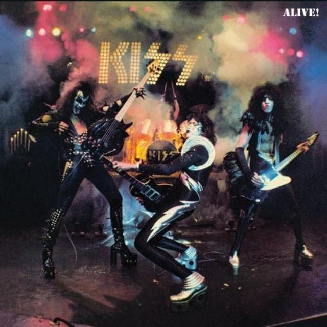 Kiss ALIVE Vinyl Record