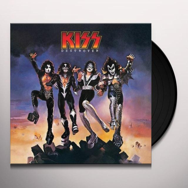Kiss DESTROYER Vinyl Record
