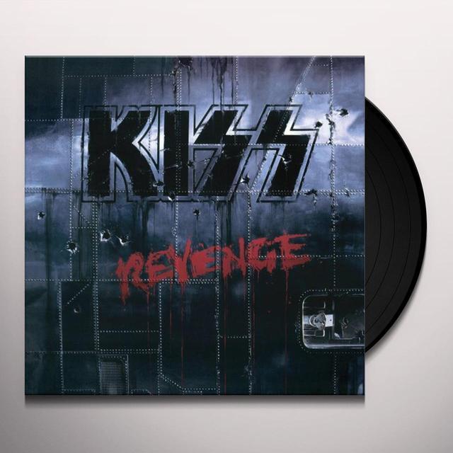 Kiss REVENGE Vinyl Record