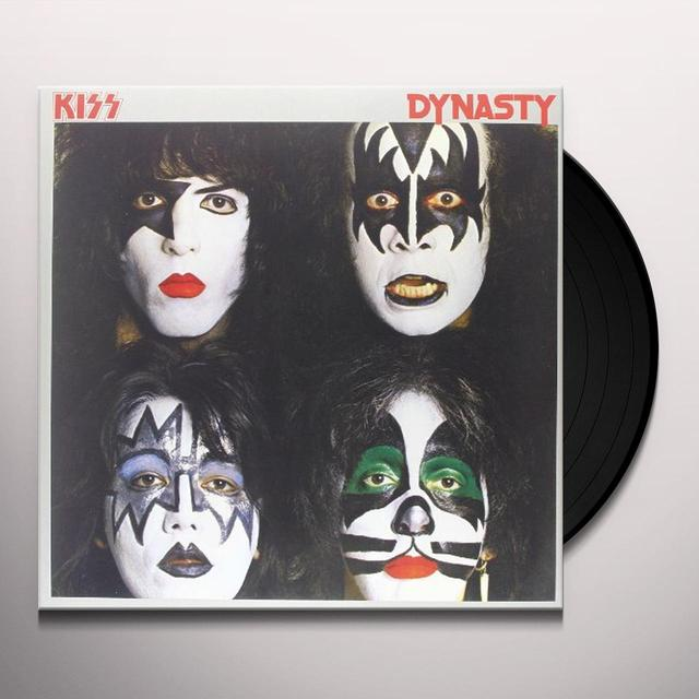 Kiss DYNASTY Vinyl Record