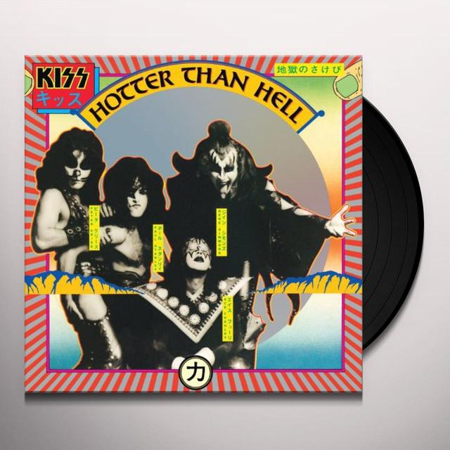 Kiss HOTTER THAN HELL Vinyl Record