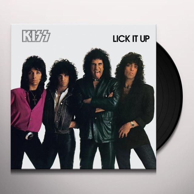 Kiss LICK IT UP Vinyl Record
