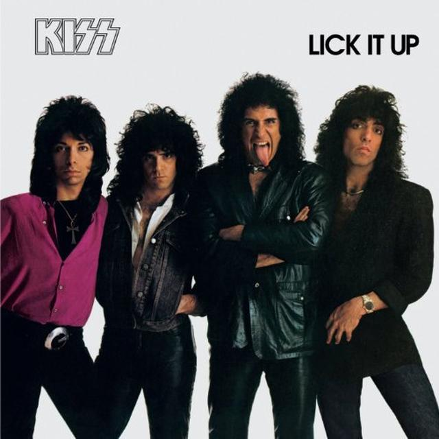 Kiss LICK IT UP Vinyl Record
