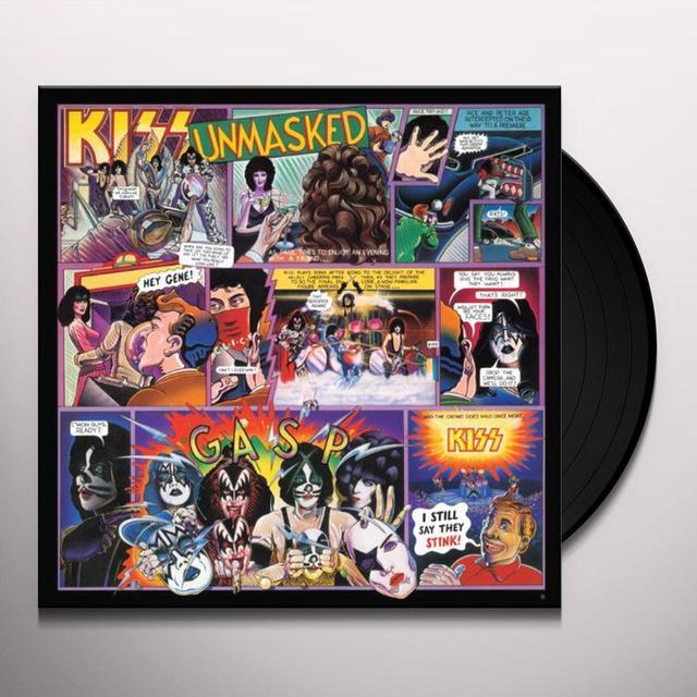Kiss UNMASKED Vinyl Record