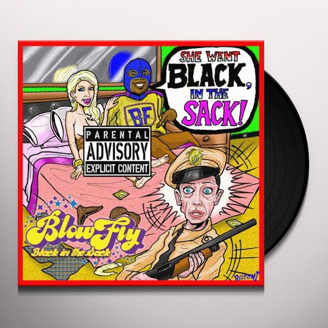 Blowfly BLACK IN THE SACK Vinyl Record