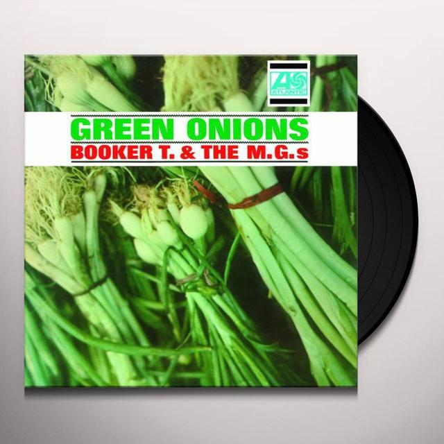 Booker T. & the M.G.'s GREEN ONIONS Vinyl Record - Holland Import