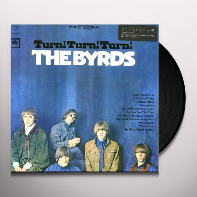 The Byrds TURN! TURN! TURN! Vinyl Record - Holland Import