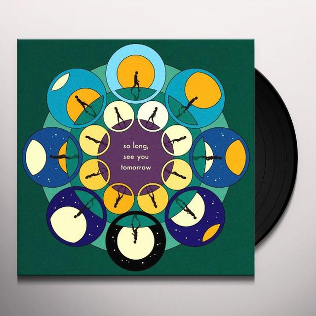Bombay Bicycle Club SO LONG SEE YOU TOMORROW (HK) Vinyl Record