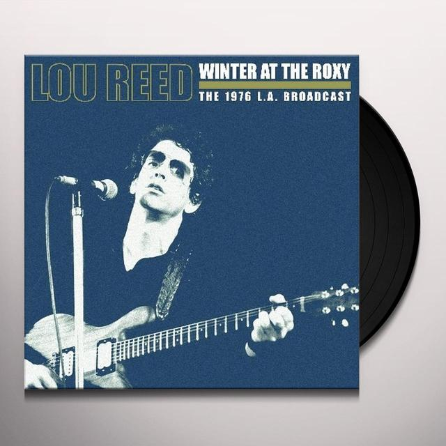 Lou Reed WINTER AT THE ROXY Vinyl Record - UK Import