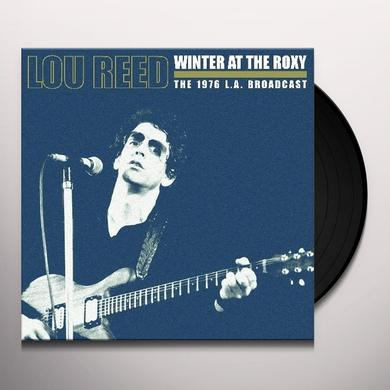 Lou Reed WINTER AT THE ROXY Vinyl Record - UK Release