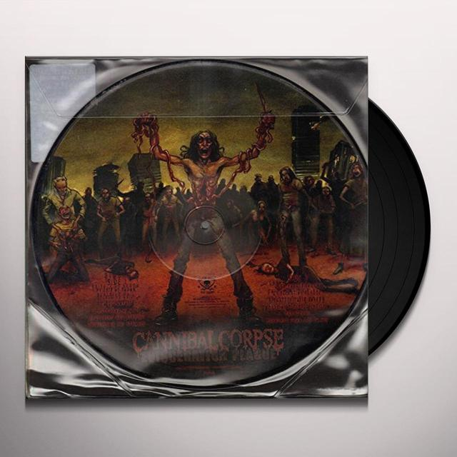 Cannibal Corpse EVISCERATION PLAGUE Vinyl Record - UK Release