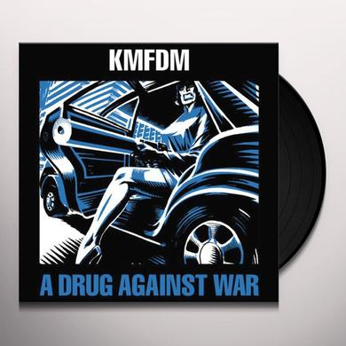 Kmfdm DRUG AGAINST WAR Vinyl Record