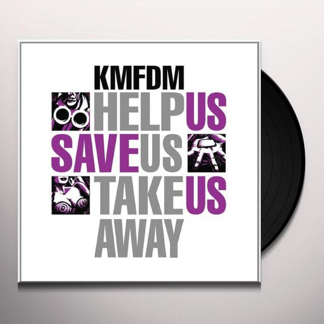 Kmfdm HELP US SAVE US TAKE US AWAY Vinyl Record