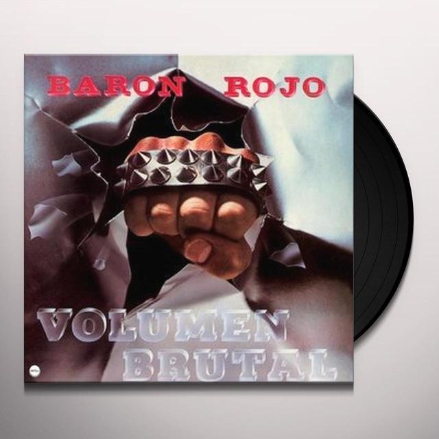 Baron Rojo VOLUMEN BRUTAL Vinyl Record - Holland Import