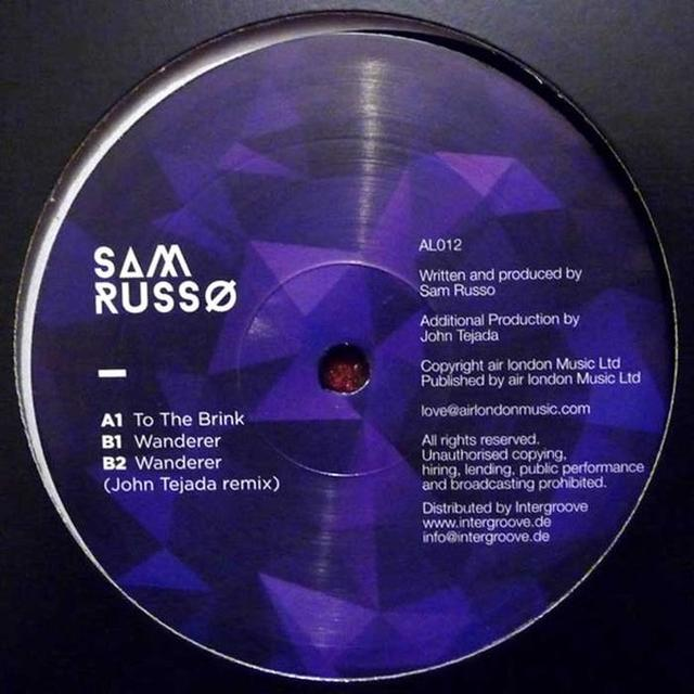 Sam Russo TO THE BRINK / WANDERER Vinyl Record