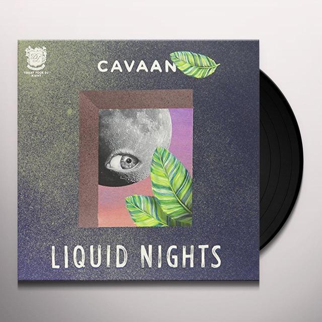 Cavaan LIQUID NIGHTS Vinyl Record
