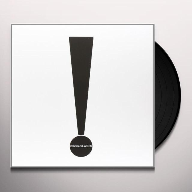 Conrad Schnitzler CONGRATULACION Vinyl Record