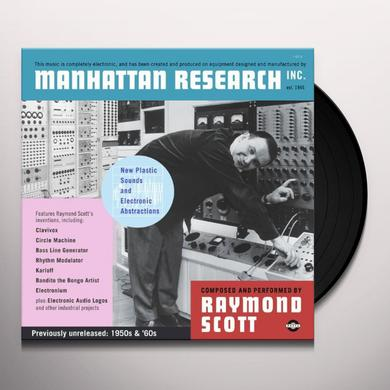 Raymond Scott MANHATTAN RESEARCH INC Vinyl Record