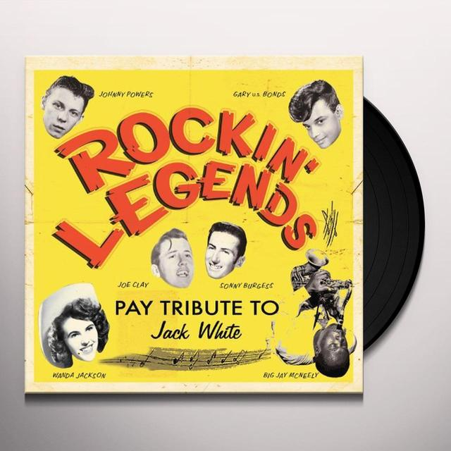 ROCKIN LEGENDS PAY TRIBUTE TO JACK WHITE / VAR Vinyl Record