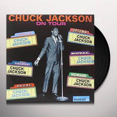 Chuck Jackson ON TOUR Vinyl Record
