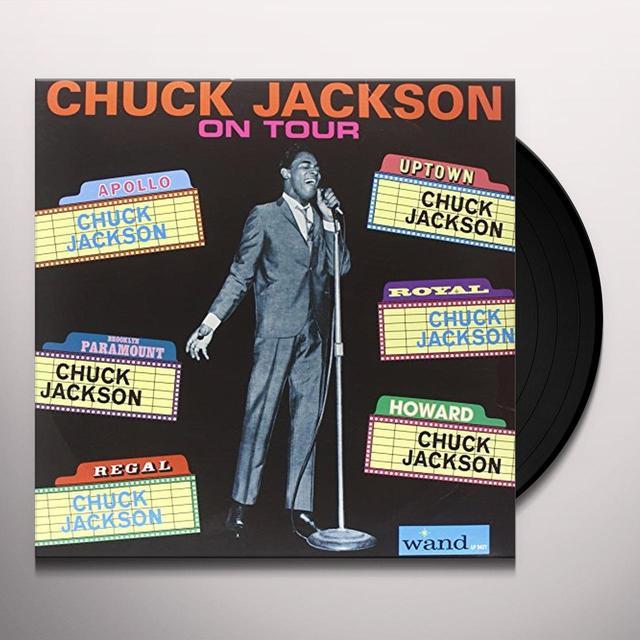 Chuck Jackson ON TOUR Vinyl Record