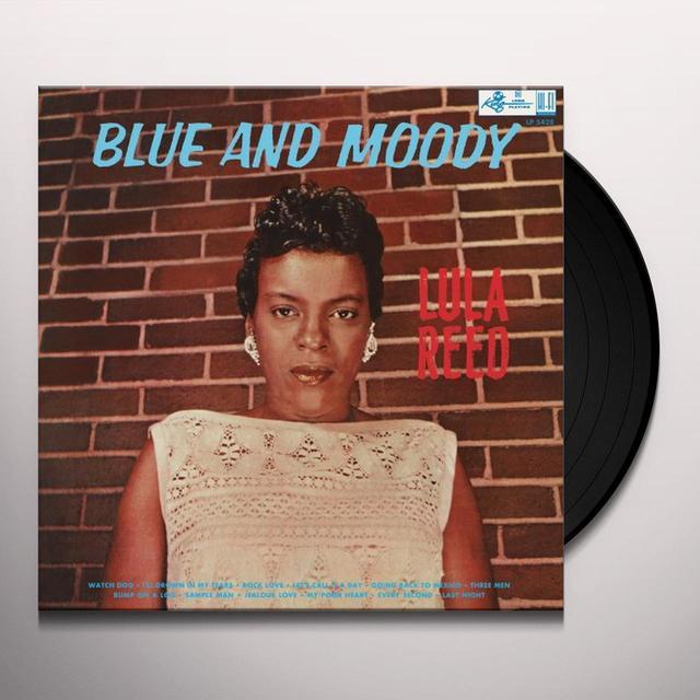 Lula Reed BLUE AND MOODY Vinyl Record