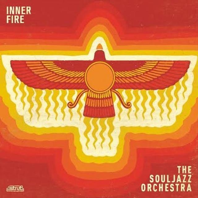 The Souljazz Orchestra INNER FIRE Vinyl Record - w/CD