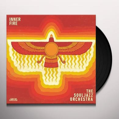 The Souljazz Orchestra INNER FIRE Vinyl Record - w/CD