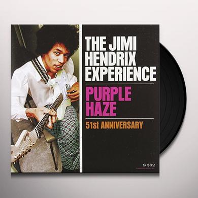 Jimi Hendrix PURPLE HAZE / 51ST ANNIVERSARY Vinyl Record