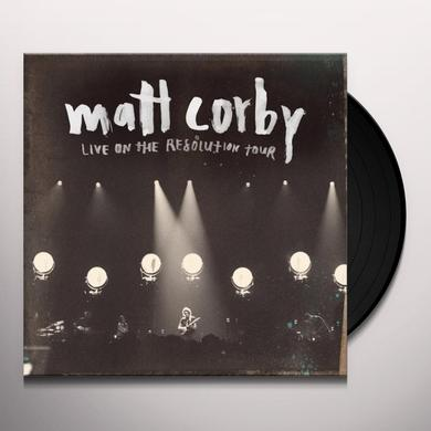 Matt Corby LIVE ON THE RESOLUTION TOUR EP (AUS) (Vinyl)