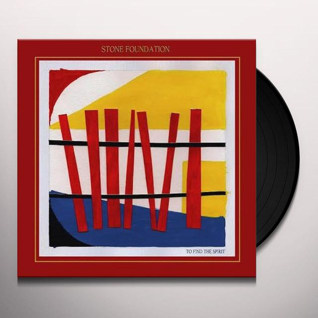 Stone Foundation TO FIND THE SPIRIT (UK) (Vinyl)