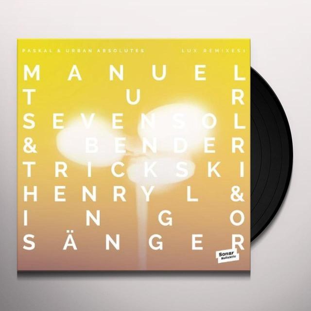 Paskal & Urban Absolutes LUX REMIXES 1 BY MANUEL TUR, TRICKSKI, SEVENSOL & Vinyl Record