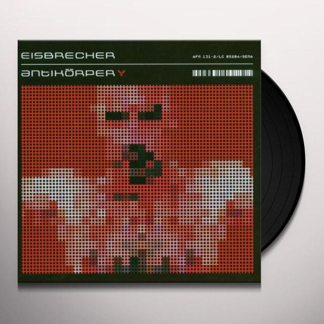 Eisbrecher ANTIKORPER Vinyl Record - Holland Import