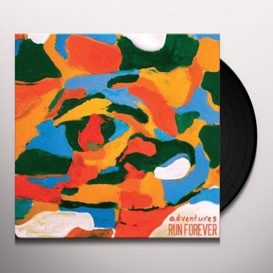 Adventures/Run Forever SPLIT Vinyl Record
