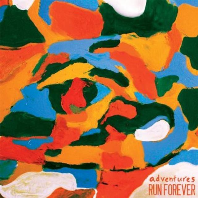 Adventures/Run Forever SPLIT Vinyl Record - UK Import