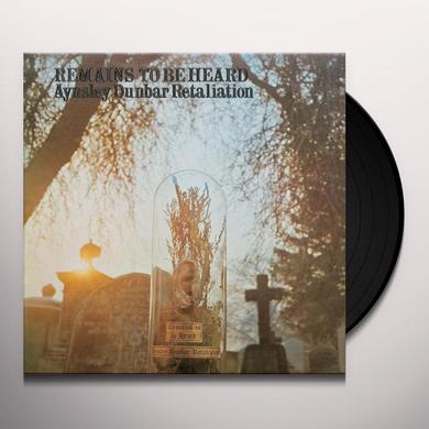 Aynsley Dunbar Retaliation REMAINS TO BE HEARD Vinyl Record - UK Import