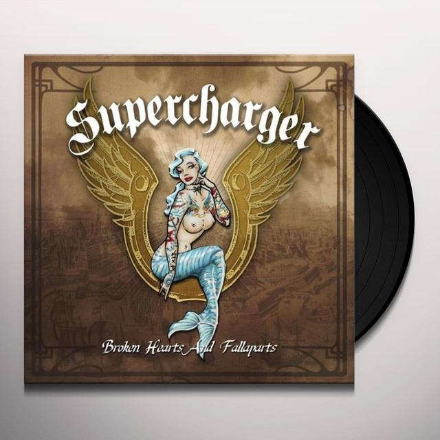 Supercharger BROKEN HEARTS & FALLAPARTS Vinyl Record - Holland Import