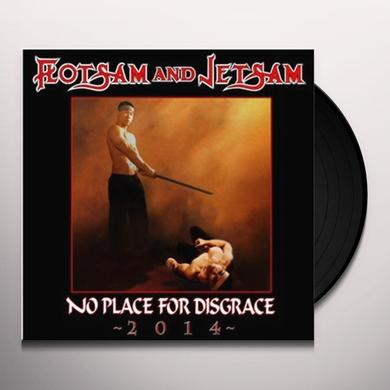 Flotsam & Jetsam NO PLACE FOR DISGRACE 2014 Vinyl Record - UK Import