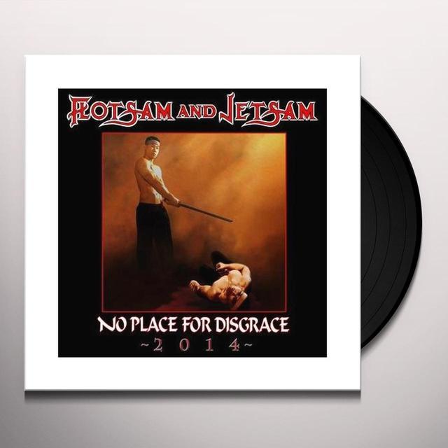 Flotsam & Jetsam NO PLACE FOR DISGRACE 2014 Vinyl Record - UK Import