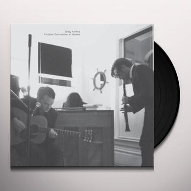 Greg Ashley ANOTHER GENERATION OF SLAVES Vinyl Record