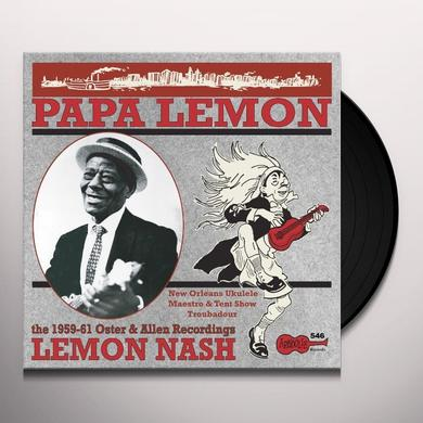 Lemon Nash PAPA LEMON: NEW ORLEANS UKELELE MAESTRO & TENT Vinyl Record