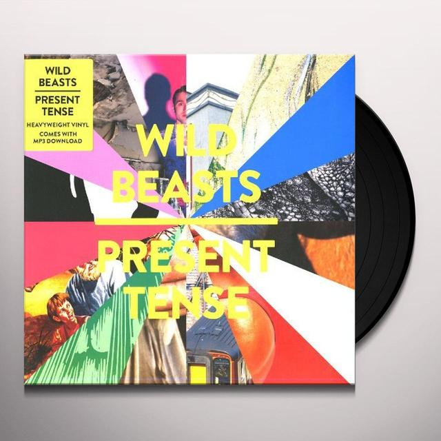 Wild Beasts PRESENT TENSE Vinyl Record - Digital Download Included