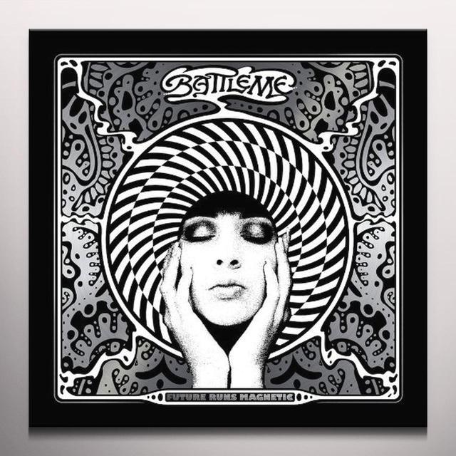 Battleme FUTURE RUNS MAGNETIC Vinyl Record - Colored Vinyl