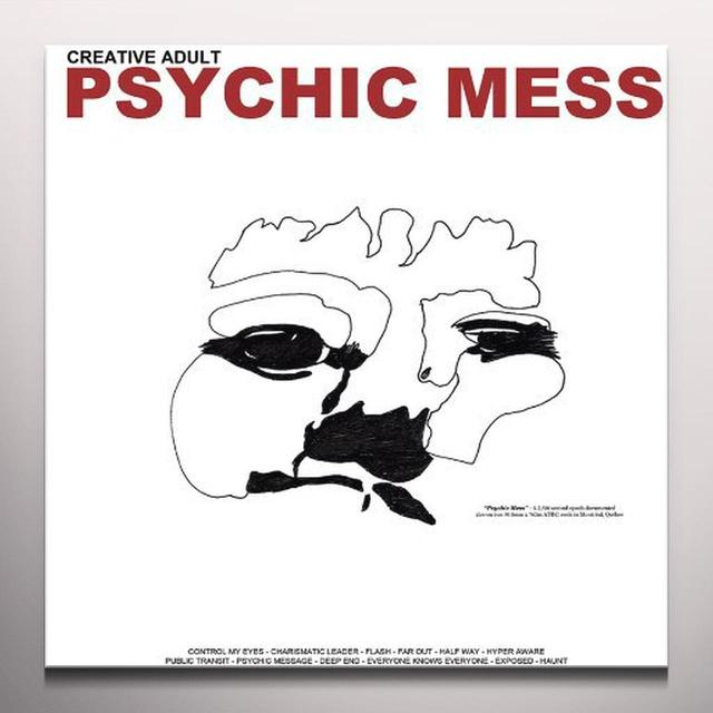 Creative Adult PSYCHIC MESS Vinyl Record