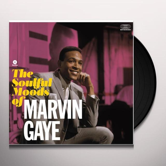 SOULFUL MOODS OF MARVIN GAYE Vinyl Record - Spain Import