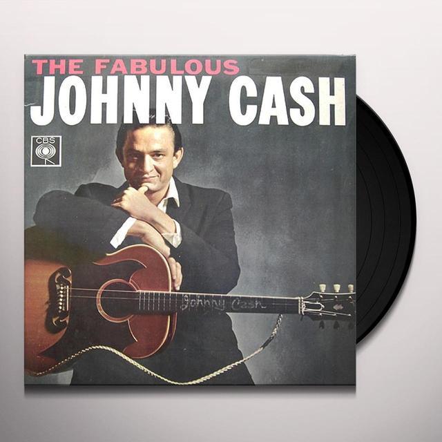 FABULOUS JOHNNY CASH Vinyl Record - Spain Release