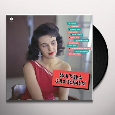 WANDA JACKSON-DEBUT ALBUM Vinyl Record - Spain Import